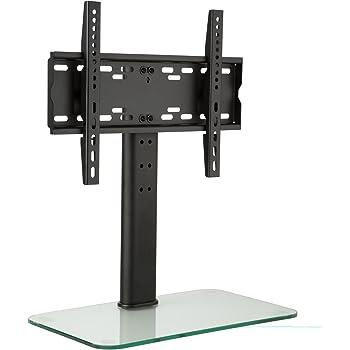 auna Soporte para televisor Tamaño M Regulable en Altura hasta 56cm (Ideal sujeción televisión 23-47 Pulgadas, 3 Niveles, Base TV de Cristal endurecido): Amazon.es: Electrónica
