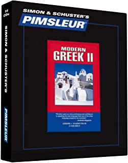 Pimsleur Greek (Modern) Level 2 CD: Learn to Speak and Understand Modern Greek with Pimsleur Language Programs (2) (Comprehensive)