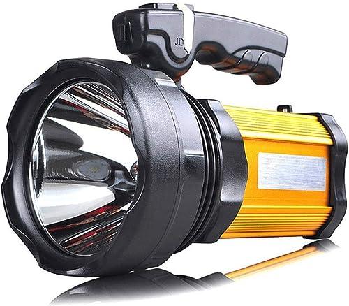 ZXM Gamme de Lampes de Poche à lumière Forte Charge au Loin Projecteur Multifonctionnel très Lumineux avec projecteur latéral, 1200 luPour des hommes