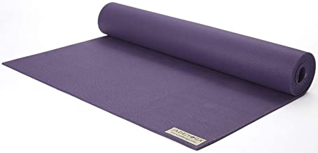 Jade Yoga - Fusion Yoga Mat - Extra Thick for Extra Comfort (68-inch, Purple)