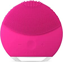 FOREO Luna Mini 2 Facial Cleansing Brush and Skin Care device made with Soft Silicone for Every Skin Type