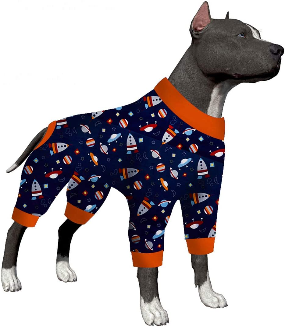 LovinPet Pitbull Pajamas Portland Mall Lightweight Cover Special Campaign Full Pullover