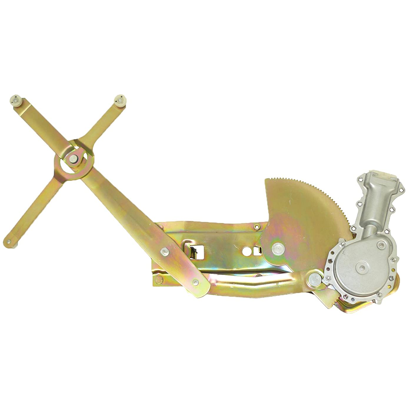ACDelco 11A392 Professional Front Driver Side Power Window Regulator with Motor
