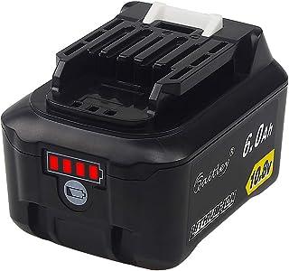 QUPER 10.8V-12V 6.0Ah bl1015 Li-ion Replacement Batteries Compatible with Makita DC10SA, DC10WC, JR103DZ, TD110DZ, HS301D...