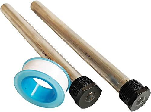"Ozek RV Water Heater Magnesium Anode Rod with PTFE Tape - Compatible with Suburban and Mor-Flo Water Heaters-9.25"" Le..."