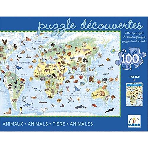 Animales del Mundo, Puzzle de 60 Piezas (07072 5)