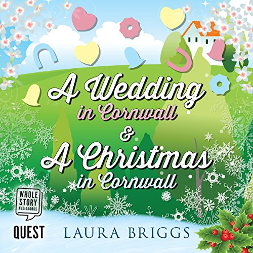 A Wedding in Cornwall & A Christmas in Cornwall audiobook cover art