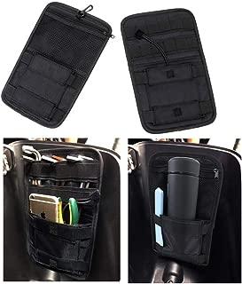 Vehicle Motorcycle Bike Universal Internal Saddle Bags Small Tools Organizer Bags,  Black