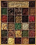 Unbekannt Poster 40x 50cm Gewürze/Spices/Gewürze