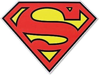 Silver Buffalo SP1006 DC Comics Silver Buffalo Superman Logo Die Cut Sign, 11.75 x 9 inches