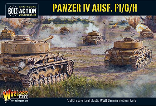 Bolt Action - Panzer IV Ausf.F1/G/H - WGB.WM.505 - Warlord Games