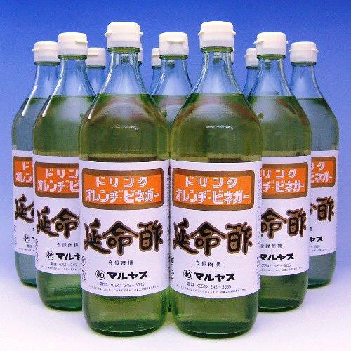 マルヤス みかんのお酢 延命酢 ドリンク オレンヂ・ビネガー 900ml×12本