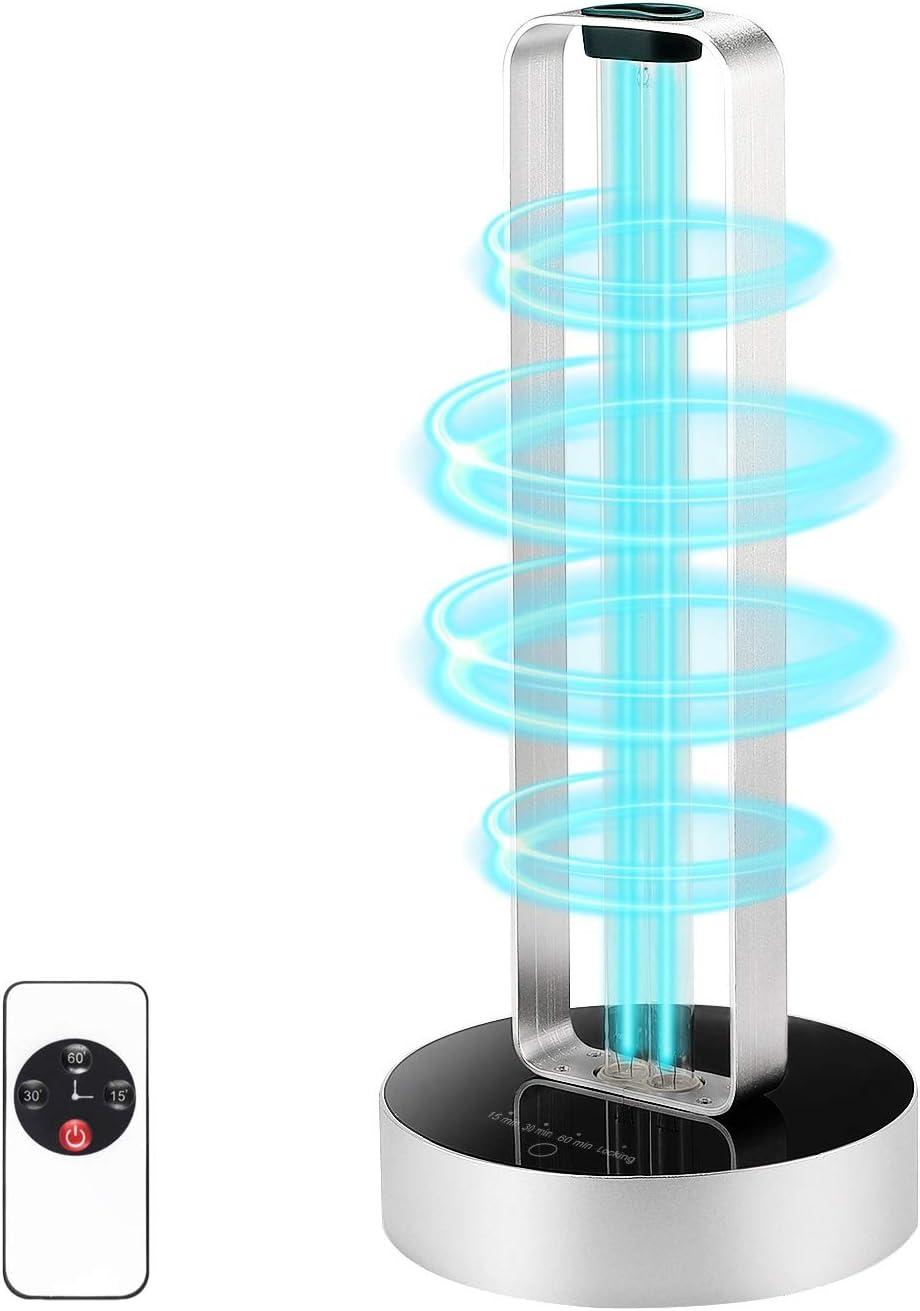 UV Light Sanitizer Super-cheap with Remote Control 540 sq.ft 99.9% Sterilize Max 55% OFF