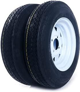 MILLION PARTS 2 Bias Trailer Tires & Rims 5.30-12 LRC on 12