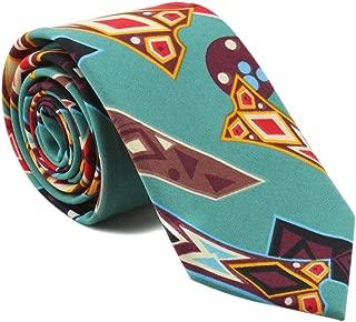 ACVIP Men's Fancy Novelty Cotton Patterned Pretied Necktie