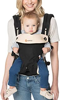 Ergobaby Carrier, 360 All Carry Positions Baby Carrier, Black