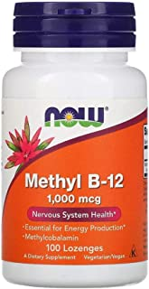 Now Foods Methyl B-12 1000 mcg - 100 Lozenges