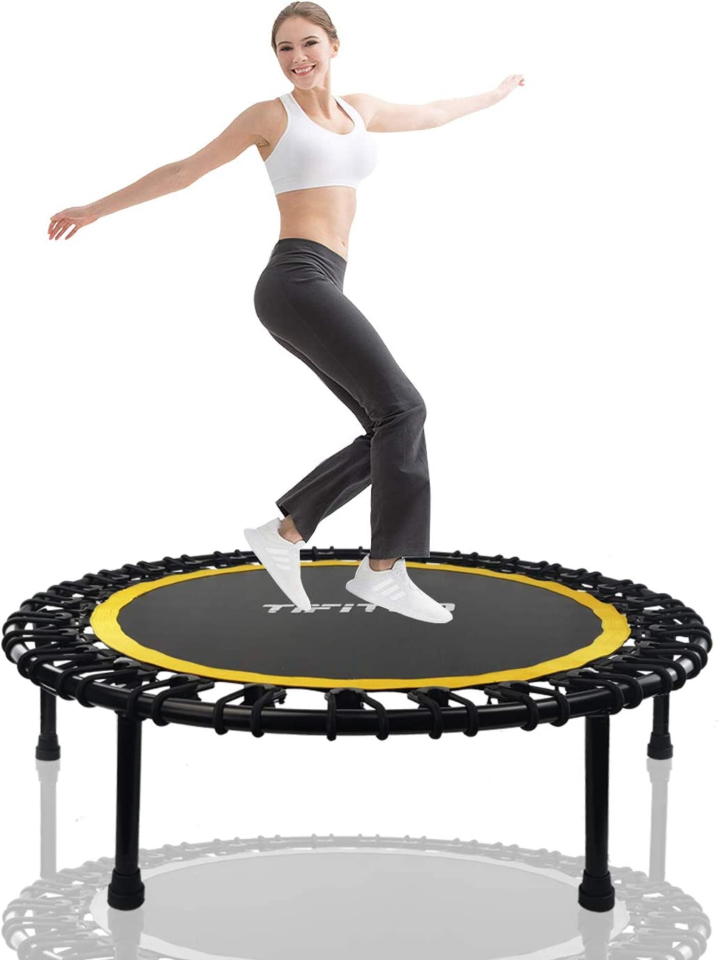 Trust TIFITGO 450Lbs 40Inch Mini Max 50% OFF Trampoline Kids Adults for Outsid and