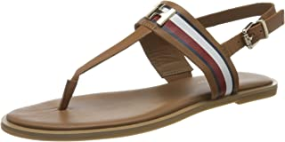 Tommy Hilfiger CORPORATE LEATHER FLAT SANDAL Women's Sandals