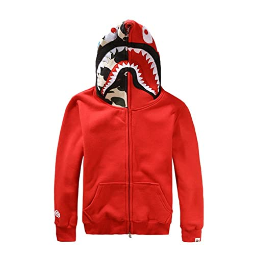 Griffith Nancy New Bathing Ape Bape Jacket Men Shark Head Full Zip Hoodie  Sweater Jacket 573b6d3de1ca