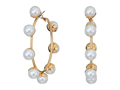 8 Other Reasons Pucker Up Hoops (Gold) Earring