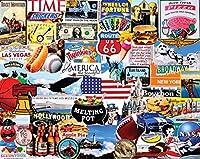 Chaque casse-tête White Mountain est fabriqué avec fierté aux États-Unis avec une garantie de satisfaction du client à 100%. L'artiste Charlie Girard est le créateur de superbes énigmes de collage amusantes et uniques. Rien Dit America comme Football...