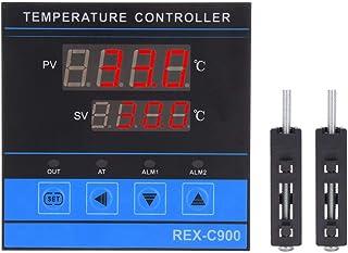 Cyfrowy regulator temperatury, inteligentny diody LED, podwójny wyświetlacz temperatury PID, wyjście SSR o wysokiej czułoś...