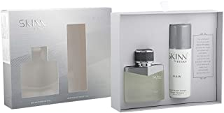 Skinn Raw Coffret Perfume for Men, 50ml and Deodorant, 75ml