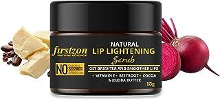 FIRSTZON Lip scrub balm for lip lightening and brightening dark lips for men and women / Dry Lips / smoker / chapped lips...