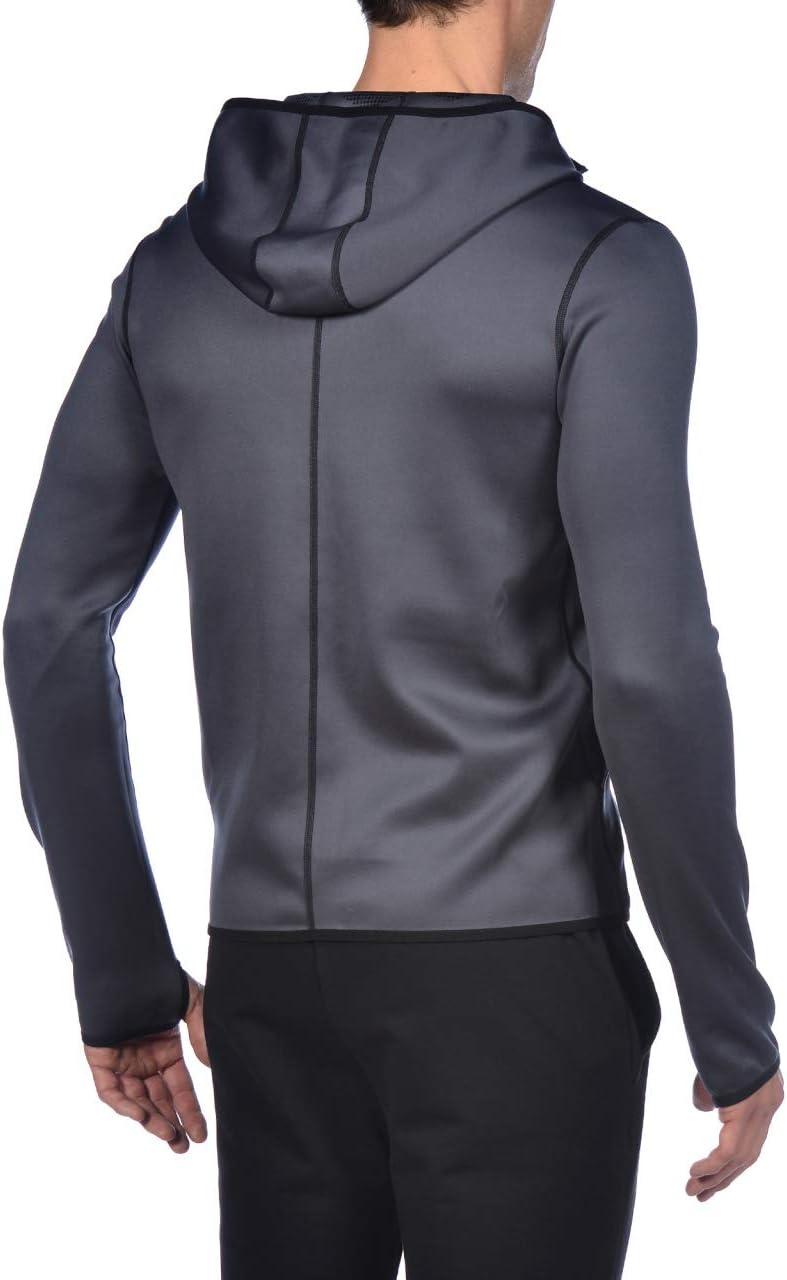 arena M Hooded F//Z Jacket Veste /à Capuche Spacer r/éversible pour Hommes