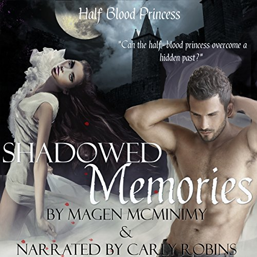 Shadowed Memories audiobook cover art