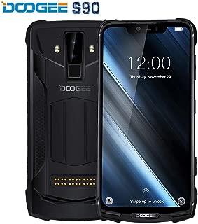 DOOGEE S90 - IP68/IP69K Waterproof Shockproof Outdoor Smartphone(10050mAh Battery), Android 8.1 Helio P60 Octa-core 6GB+128GB, 6.18