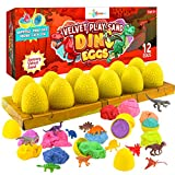 LITTLE CHUBBY ONE Kids Velvet Play Sand Dino...