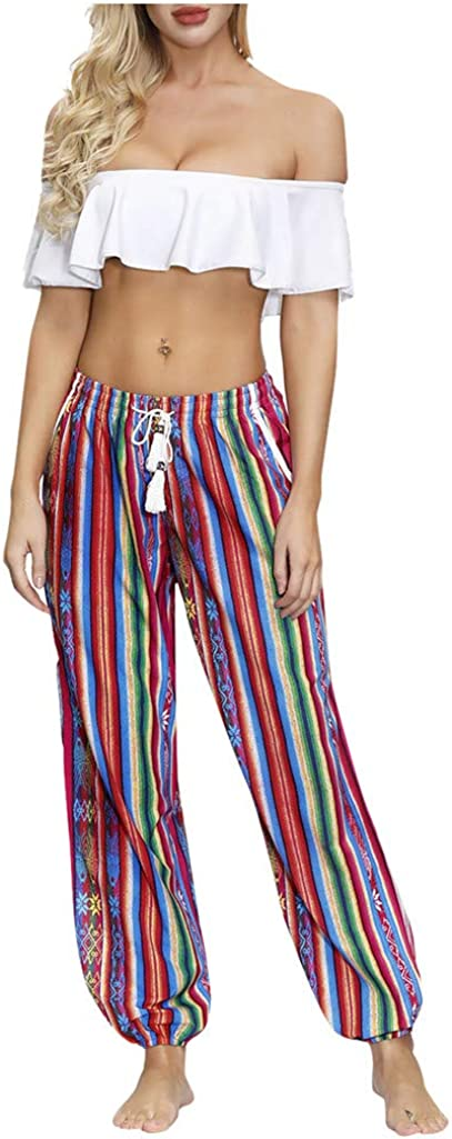 pan hui Women High Slit Trousers Ranking TOP9 35% OFF Hippie Harem Pants