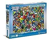 Clementoni DC Comics-Puzzle (1000 Piezas), diseño de cómic, Multicolor (39599)