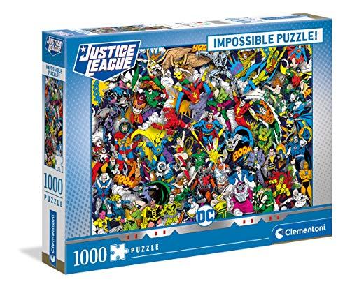 Clementoni 39599 - Puzzle (1000 Piezas), diseño de cómic