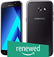 (Renewed) Samsung Galaxy A7 2017 SM-A720FZKDINS (Black Sky)