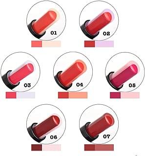 Women Two-tone Lip Tint Lip Bar Long Lasting Lipstick Moisturising Matte Lip Balm (02)