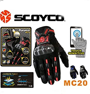 Best oxblood motorcycle gloves Reviews