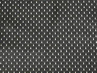 SyFabrics Large Sports Jersey mesh Fabric 58 inches Wide Black