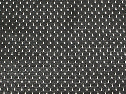 SyFabrics Large Sports Jersey mesh Fabric 58 inches Wide Black