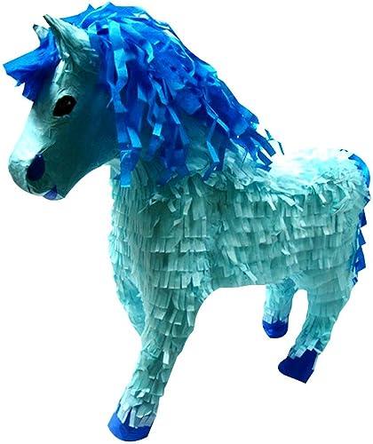 soporte minorista mayorista Piñatas Piñata, Diseño de caballo, Color Color Color azul  la mejor selección de
