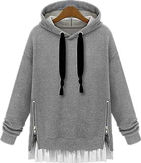 Cotton Round Neck Hoodie & Sweatshirt For Women