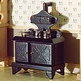 The Dolls House Emporium Viktorianischer Herd mit Kochplatten