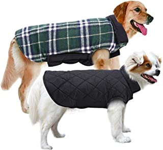 MIGOHI Dog Jackets for Winter Windproof Waterproof Reversible Dog Coat for Cold Weather..