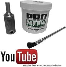 Sisit 6Pcs Lawn Mower Sharpener Lawnmower Blade Sharpener for Power Drill Hand Drill 4PC