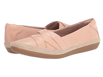 Clarks Danelly Shine (Blush Leather) Women