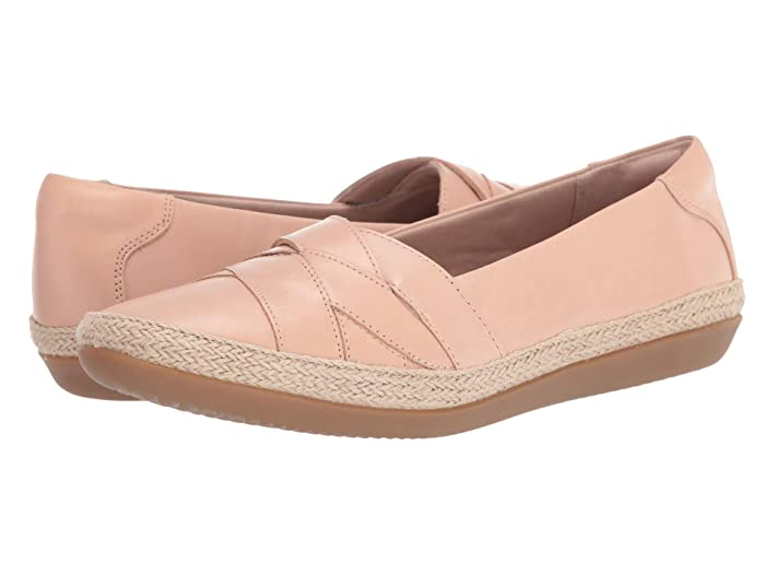 Clarks  Danelly Shine (Blush Leather) Womens Shoes