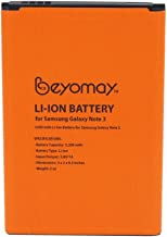 Galaxy Note 3 Battery 3200mAh EB-B800BE Batteries with NFC for Galaxy Note3 N9000 N9002 N9005 N900A N900P N900T N900V N9006 N9008 N9009