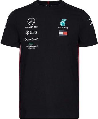 Mercedes-AMG Petronas Motorsport 2019 F1™ Camiseta del Equipo Negra Hombre